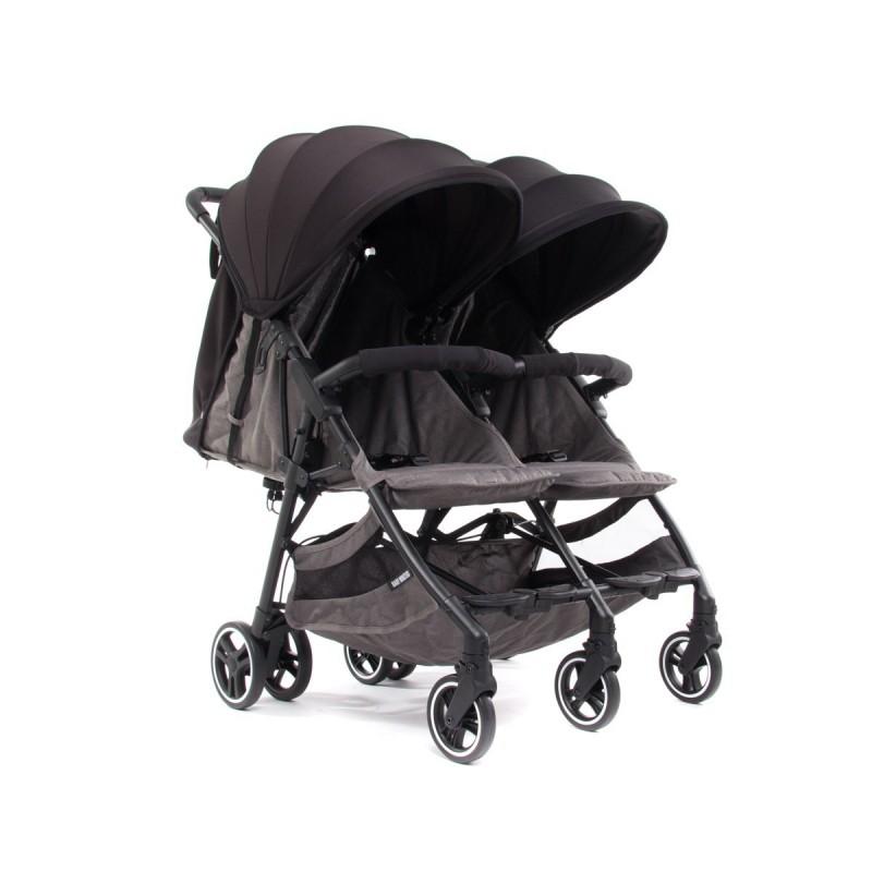 Kuki Twin Twin Stroller - Baby Monsters