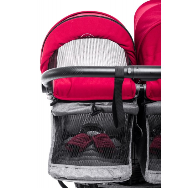 Twin Cart + Canopies Easy Twin 4 - Baby Monsters