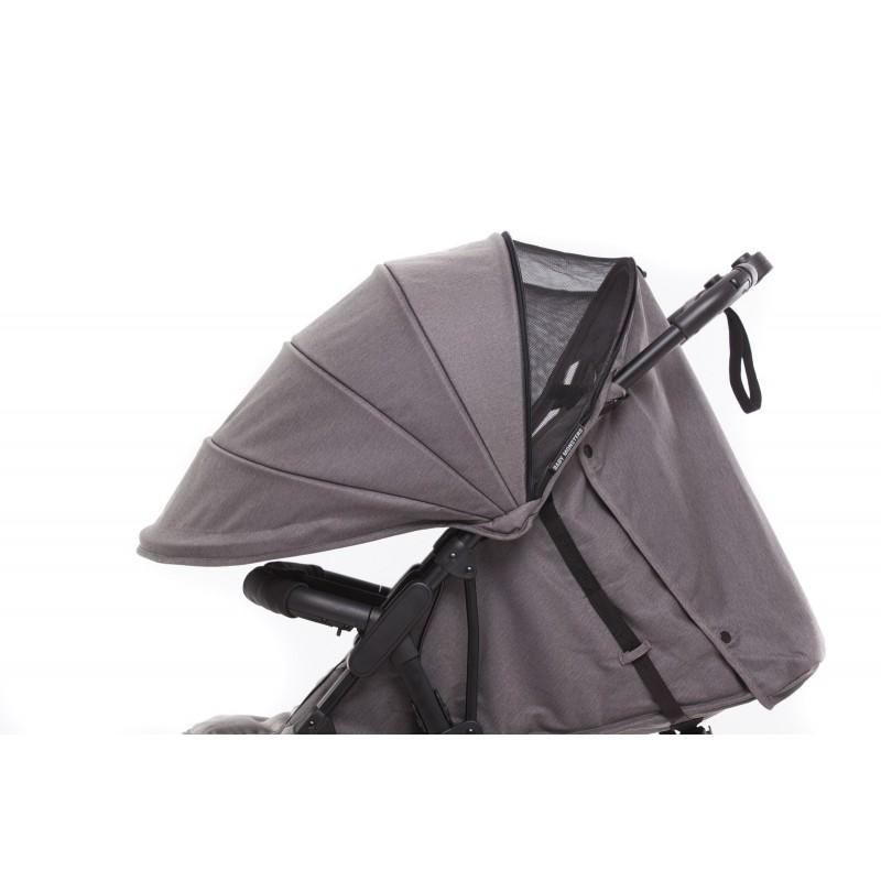Twin Stroller + Canopies Kuki Twin - Baby Monsters