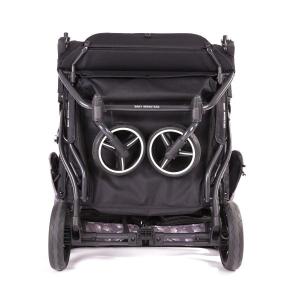 Cart + Canopies Easy Twin 3S Twin - Baby Monsters